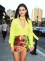 Victoria Justice Fashion Skirt  8x10 Photo Print