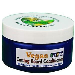 FraPete Vegan Cutting Board Chopping Board Cream Oil Conditioner Wax 245 mils