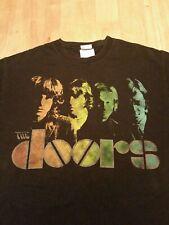 2003 The Doors Bravado T-Shirt, Jim Morrison. Black Size Medium.