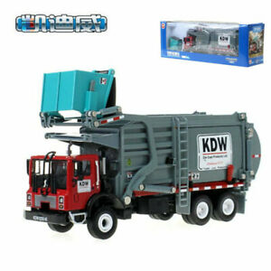 Alloy Engineering Vehicle 1:24 Material Handling Truck Alloy Garbage Truck