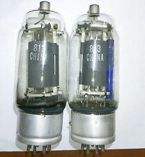 813 transmitting tubes 2 pcs.fully tested NOS