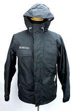 Burton Black Mild Weather Hooded Jacket Mens Small