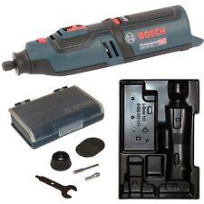 Bosch Akkumultirotationswerkzeug GRO 12V-35 Solo mit Einlage und Zubehörbox