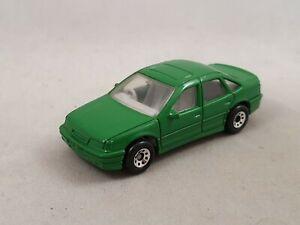 Matchbox Opel Vectra GSi 2000 Vauxhall Cavalier 1:59 grün / green