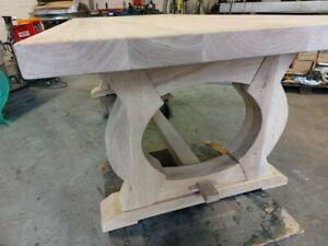 Eichen tisch Neu !  250 cm lang ,tischplatte 6 cm