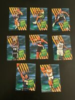 1994-95 Hoops Power Predators Complete 8 Card Inset Set Shaquille O'Neal +