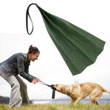 Durable Pet Puppy Dog Training Bite Rag for Schutzhund Police Dog Army Green
