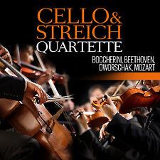 CD Cello und Streichquartette von Dworschak, Mozart Boccherini Beethoven 3CDs