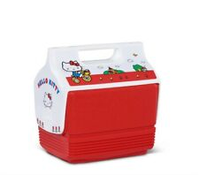 Hello Kitty Igloo Cooler Mini Playmate 4Qt Red Lunch Picnic Limited Edition