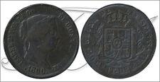 España - Monedas Isabel II- Año: 1860 - numero 00065 - MBC - 10 Centimos de Real