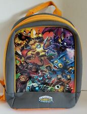 Skylanders Giants Backpack Gray and Gold Small 10 x 11 x 3 Kids Great Condition