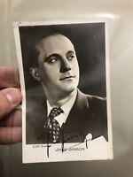José Janson Photo Ancienne Photographie Dédicacé Signé Fabrègues Ténor Chanteur