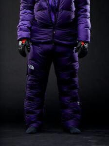 Men's The North Face Summit Series Purple AMK L6 1000 Down Pants New $1000