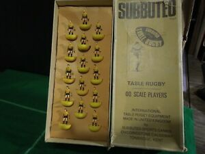 RARE HW SUBBUTEO RUGBY TEAM REF 1 AUSTRALIA IN REF 1 BOX SUPERB HW TYPE PLAYERS