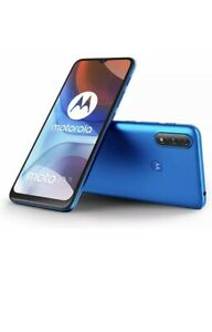 Motorola Moto E7i Power - 32GB - Tahiti Blue (Unlocked) (Dual SIM)