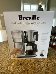Breville BDC400 Precision Brewer Coffee Maker with Glass Carafe, Brand New