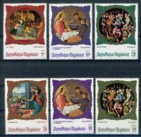Togo MiNr. 713-18 postfrisch MNH Weihnachten (Wei740
