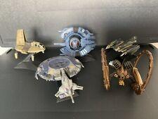 Star Wars Titanium Droid Gunship, Neimoidian Shuttle, Hailfire diecast