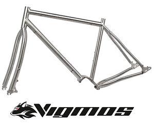 Pinion Titan Reiserad Rahmen frame MTB 26 28 29 Fatbike Gravel titanium Trekking