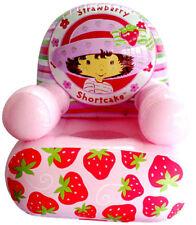 Poufs, poires et meubles gonflables rose pour enfant