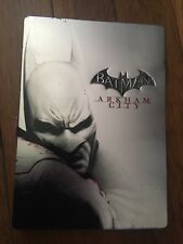 BATMAN ARKHAM CITY Steelbook PENGUIN Edition (Microsoft Xbox 360, 2011) Used