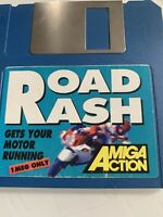 Amiga Action cover disk Road Rash 1 MEG only