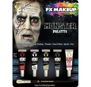 Tinsley Transfers FX Face Paint Makeup Kit Set - Monster 5 Piece Palette