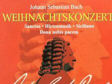 """CD """"J. S. BACH - WEIHNACHTSKONZERT"""" Sanctus, Kantaten, Siciliano, WO, Motette"""