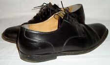 Cole Haan Black Leather Cap Toe Oxfords 8.5 Lace Up Shoes Style Number C02214