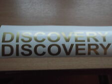 Discovery  280mm QHALITYvinyl BULL BAR  land rover sticker X2