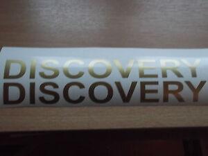 Discovery  280mm QHALITYvinyl BULL BAR  land rover sticker X2