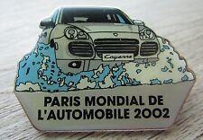 PORSCHE PIN/Piedini: pressepin-automobilistica Salone Parigi 2002-CAYENNE-RAR!