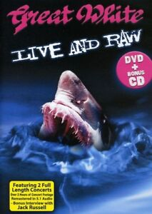 Great White - Live & Raw [New DVD]