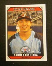 2019 Choice, Salem Red Sox - TANNER NISHIOKA