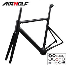T1100 monocuque 46cm Matte road bike carbon frame 766g carbon road bicycle frame