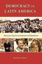 NEW Democracy in Latin America: Political Change in Comparative Perspective