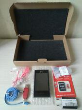 "LG OPTIMUS L3 E400 BLACK 3 MEGAPIXEL 3.2"" HSPA RADIO WIFI GPS CELLULARE VINTAGE"
