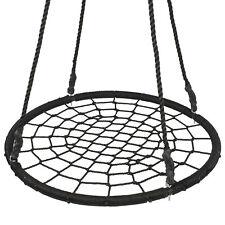 """Segawe 40"""" Round Tree Swing Set Black"""