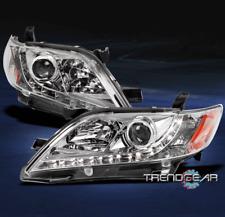 2007 2008 2009 TOYOTA CAMRY DRL LED CHROME PROJECTOR HEADLIGHT LAMP CE LE SE XLE
