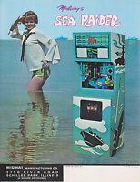 1970 MIDWAY SEA RIDER ARCADE FLYER