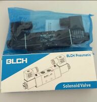 4V220-08 DC24V 1/4'' NPT Air Pneumatic Solenoid Valve 2 position 5 way BLCH