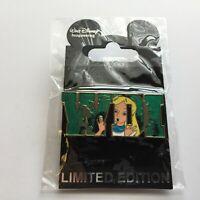 WDI - Attraction Letters - Alice in Wonderland - LE 300 Disney Pin 80274