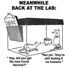 Conservative MEANWHILE BACK AT THE LAB NOT DONE TESTING HUMANS Political Shirt