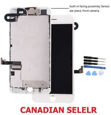 New White iPhone 7 Plus LCD Screen Display Touch Digitizer + Front Camera