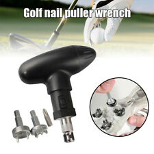 Golf Shoe Spike Removal Tool Universal Replack Spikes Cleats Wrench Stainless