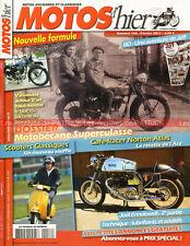 MOTOS D'HIER 154 MOTOBECANE 350 Superculasse Joël ENDEWELL NORTON Atlas Chaumont