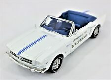 1964 1/2 FORD MUSTANG  INDIANAPOLIS 500 PACE CAR | MODEL CAR DIE-CAST 1:18 SCALE