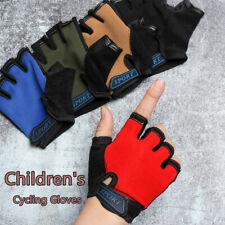 Children Bicycle Gloves Half Finger Bike Gloves Cycling Gloves Anti Slip Gloves