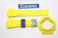 CASIO GA-110A-9V G-Shock Original Yellow BAND & BEZEL Combo GA-110 GA-110A