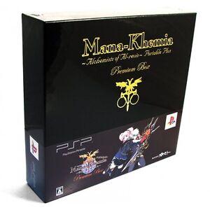 Mana Khemia Portable Limited Edition Premium Box (2008) New Japan PSP Import